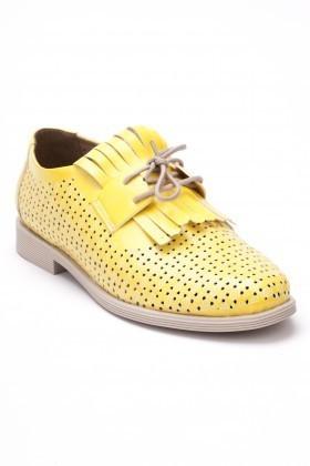 Caprito Sarı CPR-126 Bayan Ayakkabı