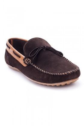 Bravelli Kahverengi-Taba BRVL-FR-BAG Hakiki Deri Erkek Ayakkabı