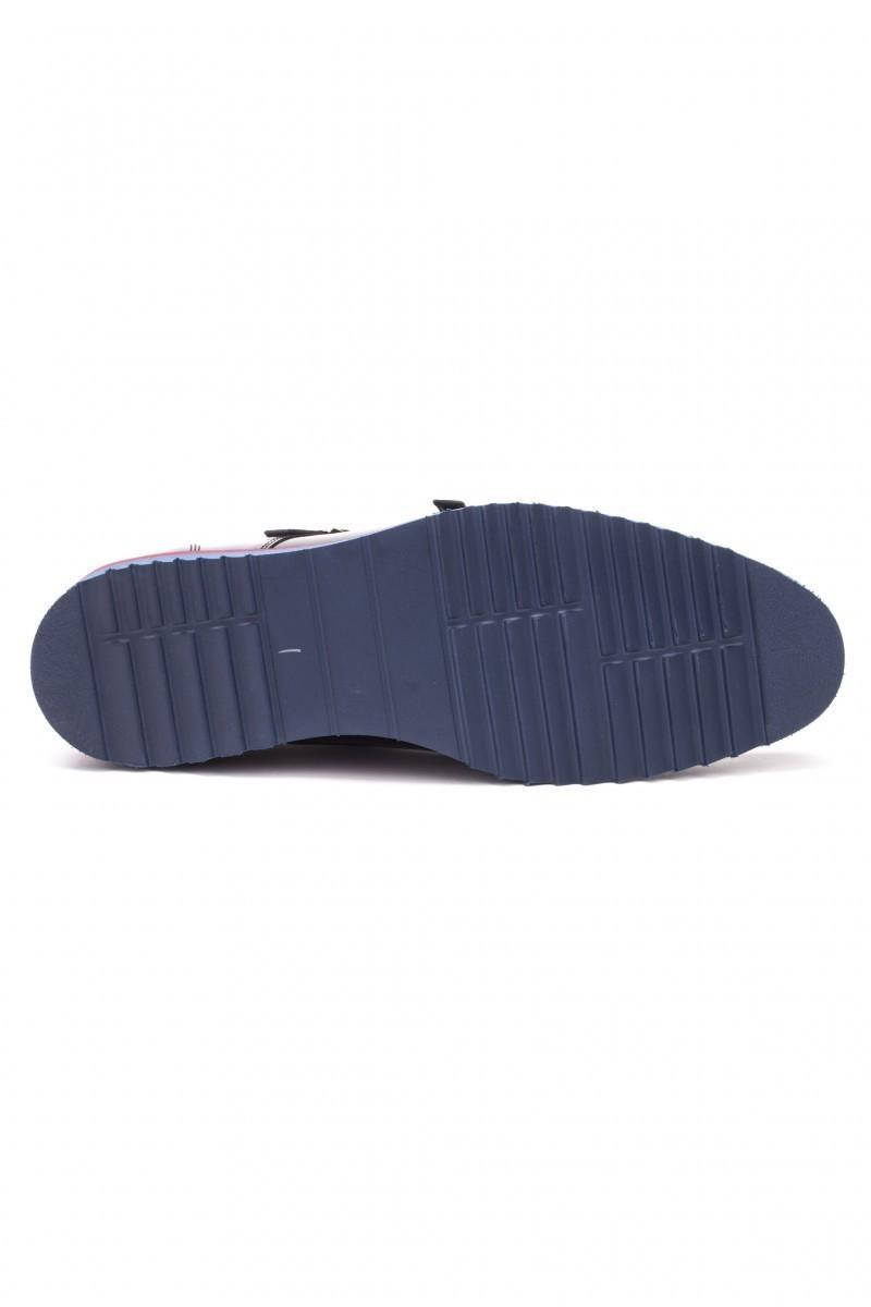 Chaos Siyah TS-1540 Hakiki Deri Erkek Ayakkabı