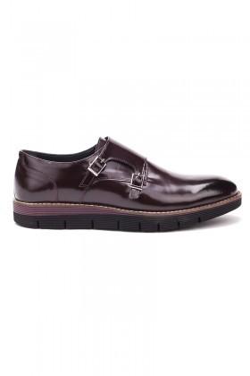 Chaos Bordo TS-1540 Hakiki Deri Erkek Ayakkabı