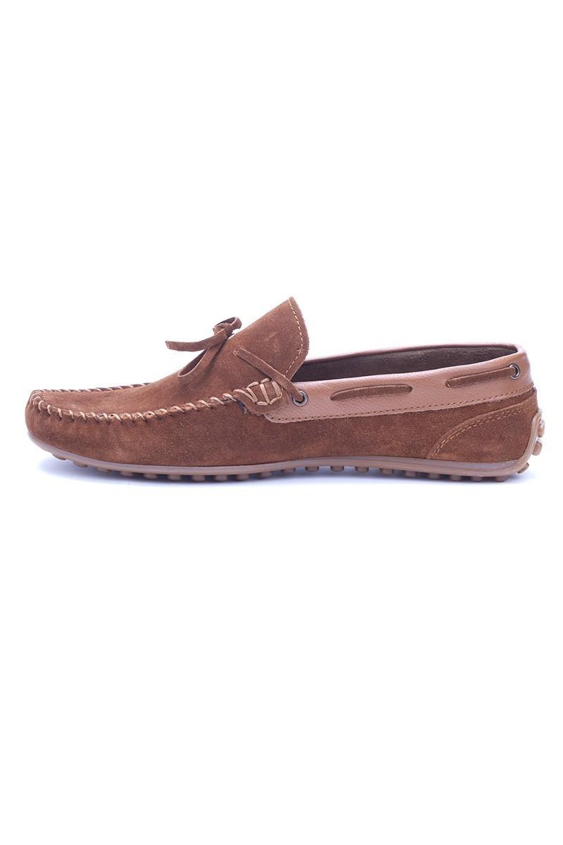 Bravelli Taba BRVL-FR-BAG Hakiki Deri Erkek Ayakkabı