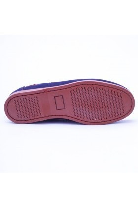 Ege Lacivert-Kırmızı EG-1012 Hakiki Deri Erkek Ayakkabı