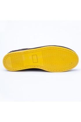 Ege Siyah-Sarı EG-1010 Hakiki Deri Erkek Ayakkabı