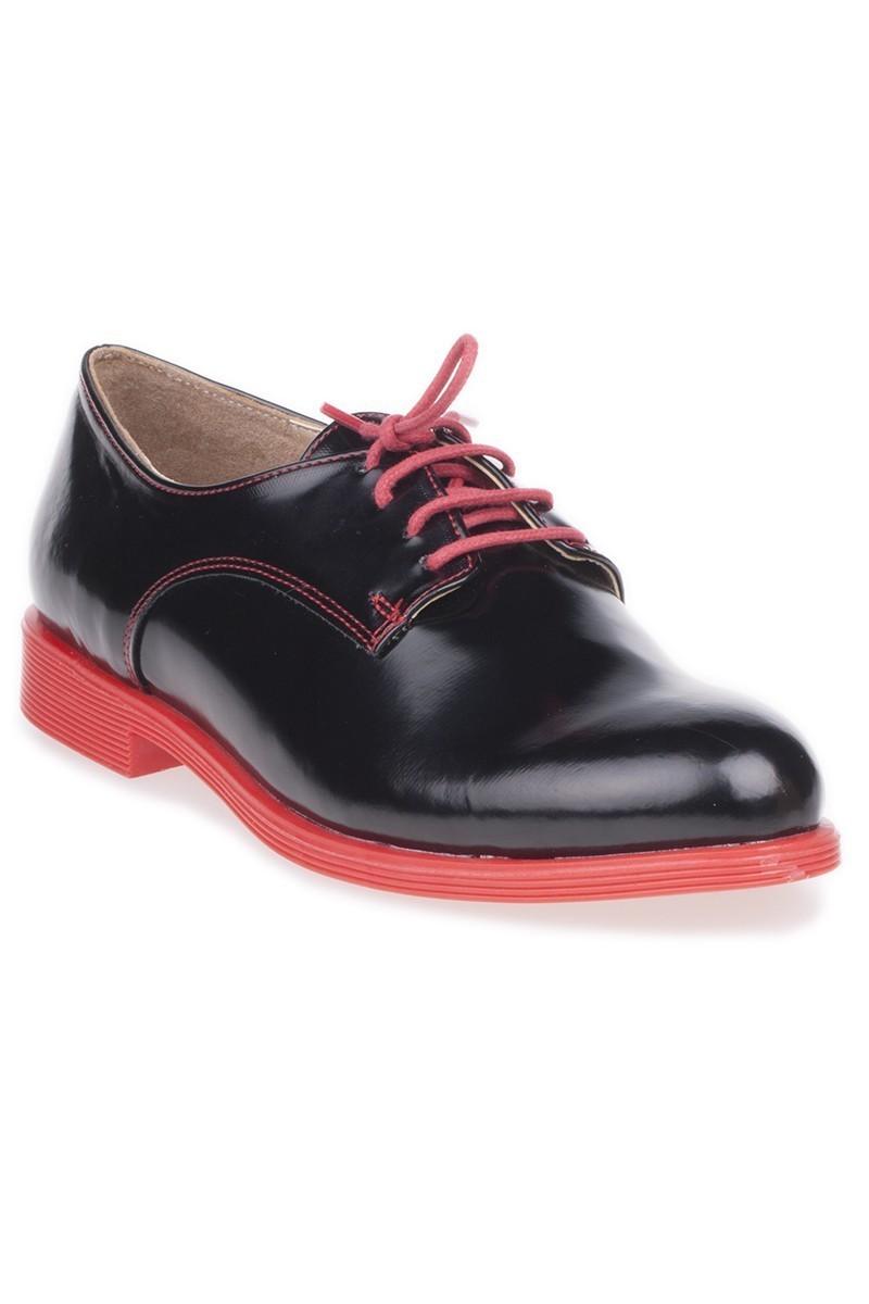 Caprito Siyah-Kırmızı CPR-120 Bayan Ayakkabı