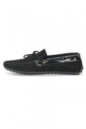 BLUESOIL Siyah BS-2525-SUET Hakiki Deri Erkek Ayakkabı