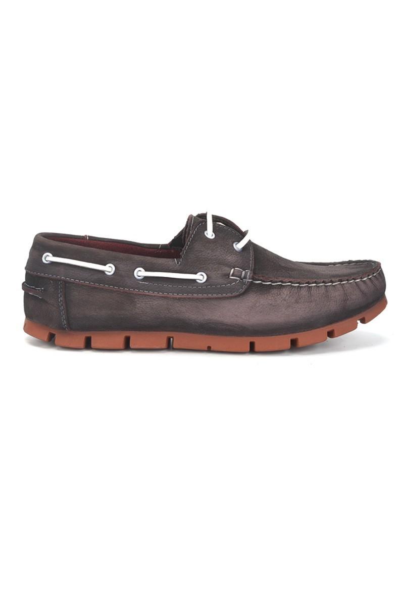 Pandew Siyah-Beyaz PNDW-799 Hakiki Deri Erkek Ayakkabı