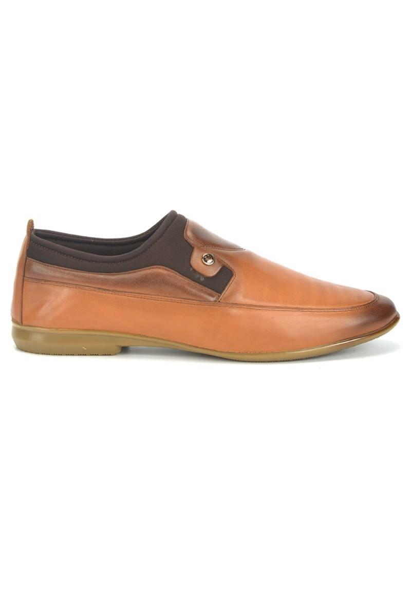 BLUESOIL Taba BS-9999 Hakiki Deri Erkek Ayakkabı
