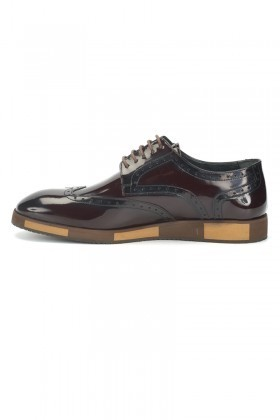 BLUESOIL Bordo BS-2000 Hakiki Deri Erkek Ayakkabı