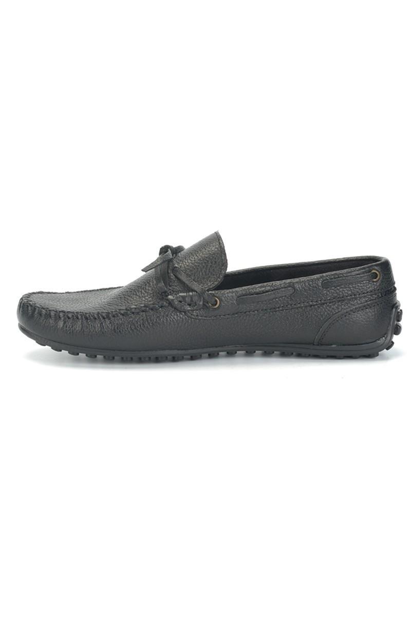 Bravelli Siyah BRVL-FR-BAG-DERI Hakiki Deri Erkek Ayakkabı