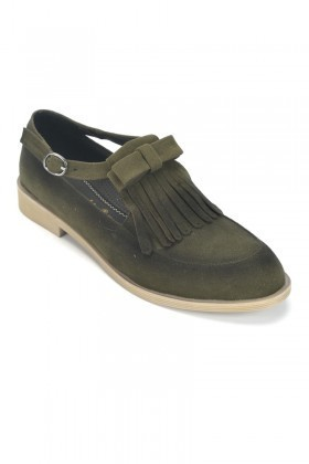Caprito Yeşil CPR-608 Bayan Ayakkabı