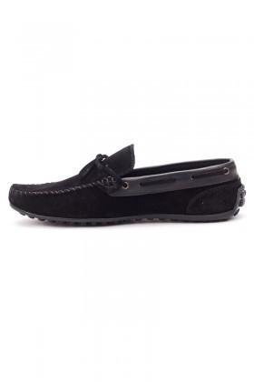 Bravelli Siyah BRVL-FR-BAG-SUET Hakiki Deri Erkek Ayakkabı