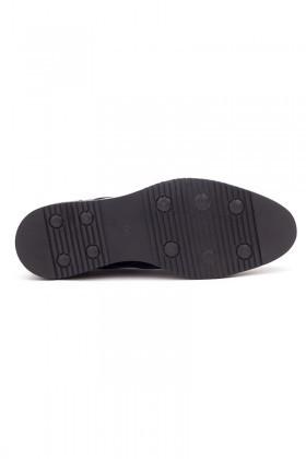 BLUESOIL Siyah BS-2002-SYH-SYH Hakiki Deri Erkek Ayakkabı