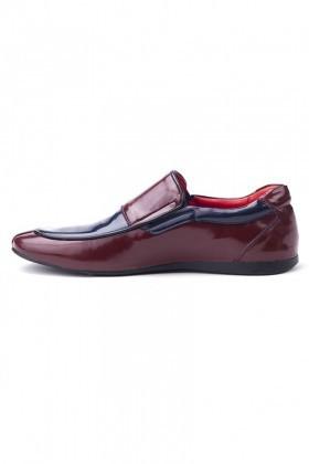 BLUESOIL Bordo-Lacivert BS-20-005 Erkek Ayakkabı