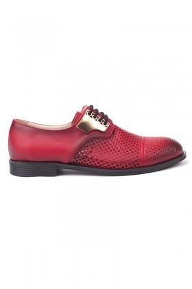 Caprito Kırmızı CPR-715 Bayan Ayakkabı