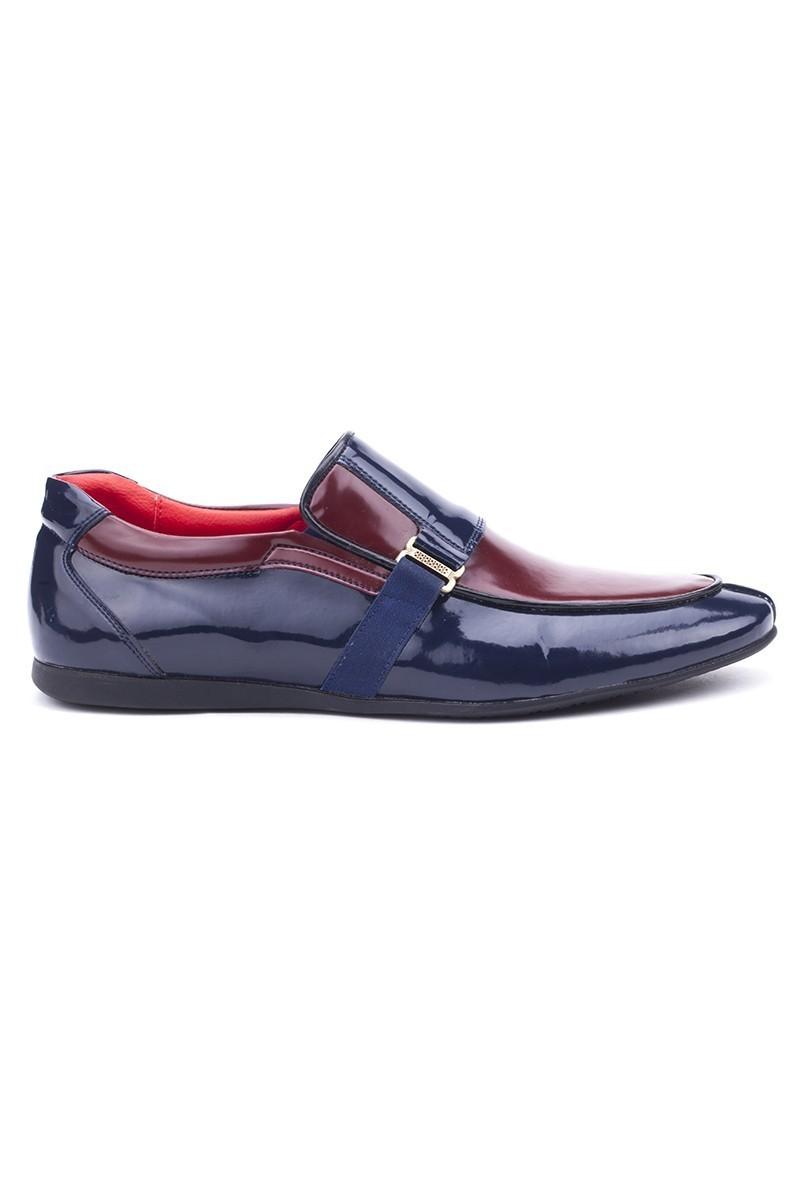 BLUESOIL Lacivert-Bordo BS-20-005 Erkek Ayakkabı