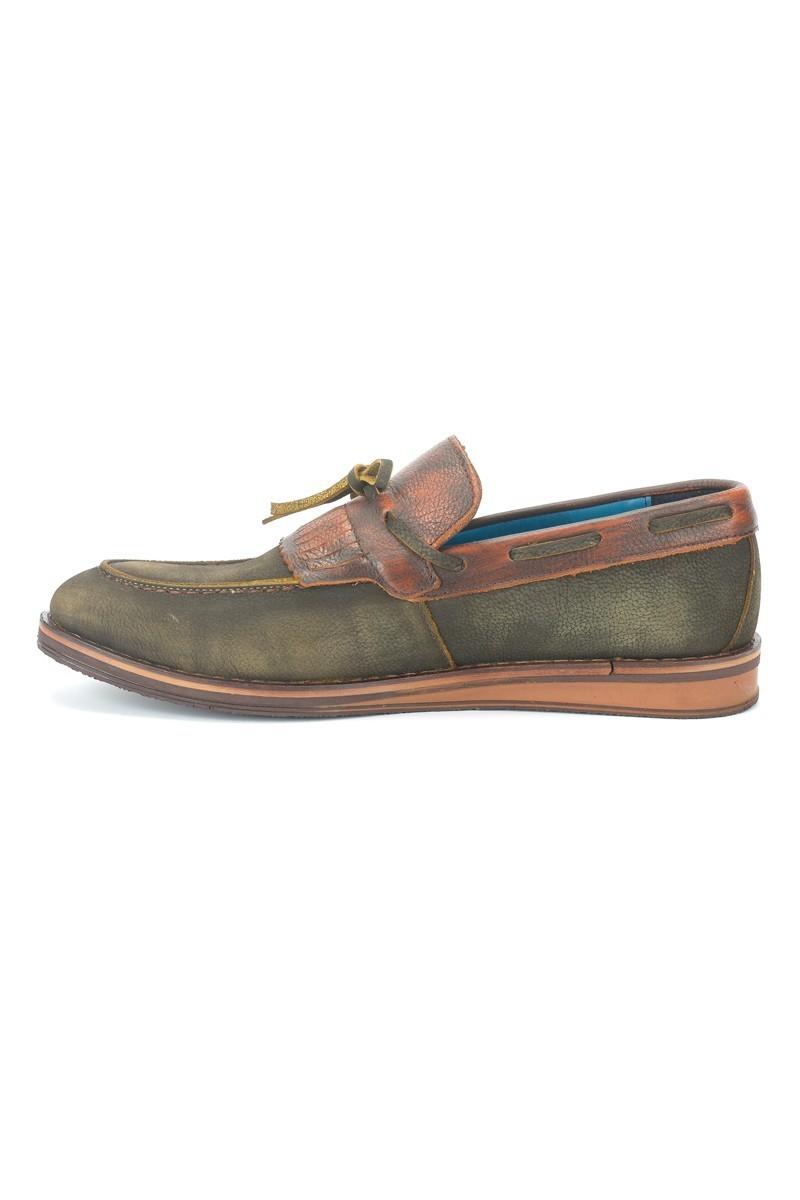 Pandew Koyu Yeşil PNDW-146 Hakiki Deri Erkek Ayakkabı