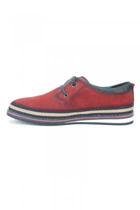 Pandew Bordo PNDW-115 Hakiki Deri Erkek Ayakkabı