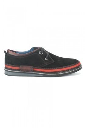 Pandew Siyah PNDW-115 Hakiki Deri Erkek Ayakkabı