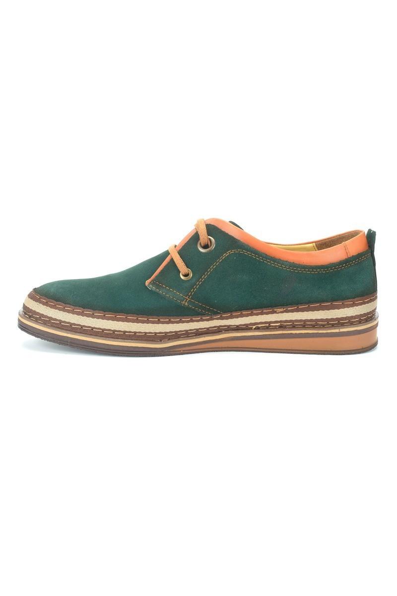 Pandew Yeşil PNDW-115 Hakiki Deri Erkek Ayakkabı