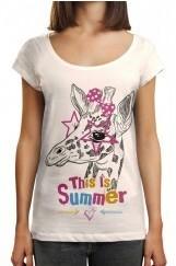This is Summer Baskılı Tişört