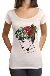 Free You Mind Baskılı Tişört