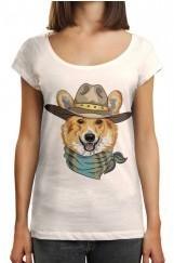 Fox Baskılı Tişört