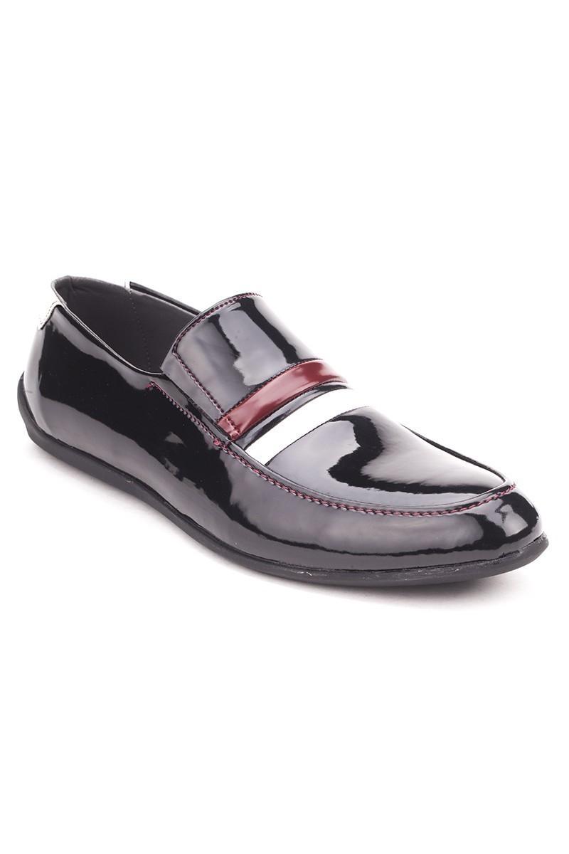 BLUESOIL Siyah-Beyaz BS-20-008 Erkek Ayakkabı