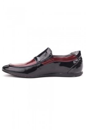 BLUESOIL Siyah-Bordo BS-20-005 Erkek Ayakkabı