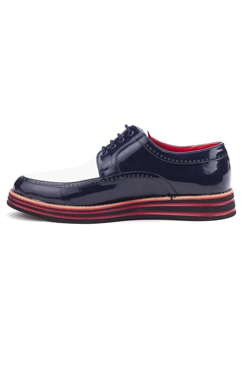 BLUESOIL Lacivert-Beyaz BS-20-003 Erkek Ayakkabı