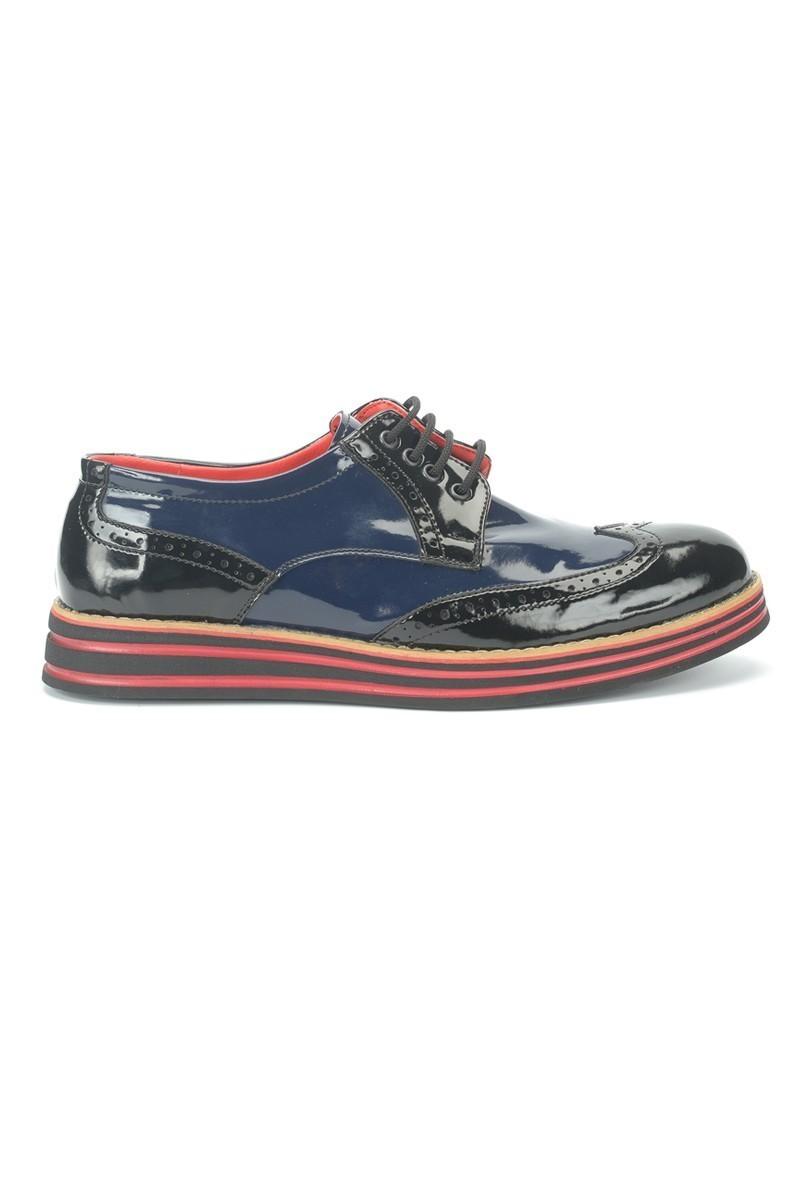 BLUESOIL Siyah-Lacivert BS-20-001 Erkek Ayakkabı