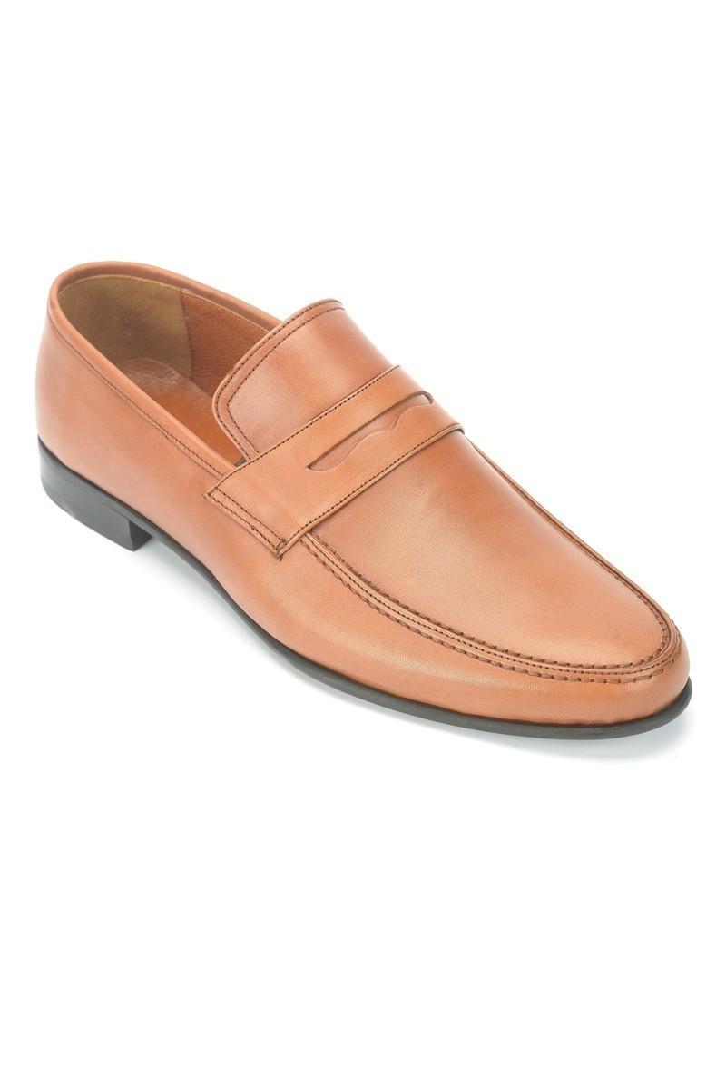 Wenetti Taba WNT-005 Hakiki Deri Erkek Klasik Ayakkabı