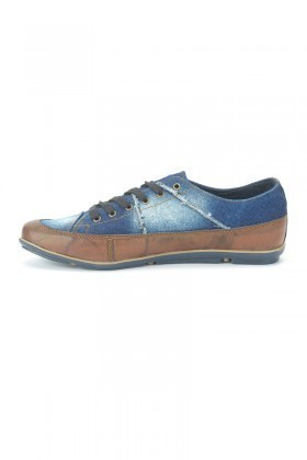 LA POLO Mavi-Taba LPL-275 Erkek Ayakkabı