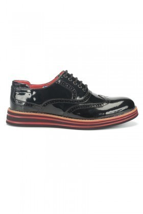 BLUESOIL Siyah BS-20-001-RGN Erkek Ayakkabı