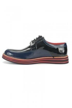 BLUESOIL Lacivert-Siyah BS-20-003 Erkek Ayakkabı