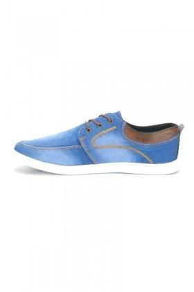 LA POLO Gök Mavi LPL-238 Erkek Ayakkabı