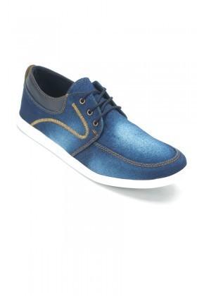LA POLO Mavi LPL-240 Erkek Ayakkabı