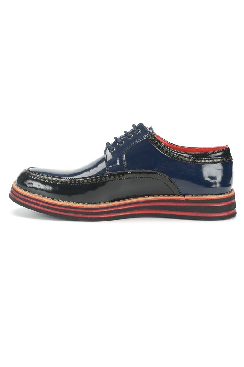 BLUESOIL Siyah-Lacivert BS-20-003 Erkek Ayakkabı