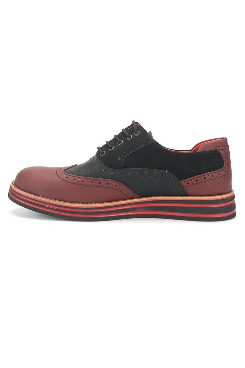 BLUESOIL Bordo-Siyah BS-20-001 Erkek Ayakkabı