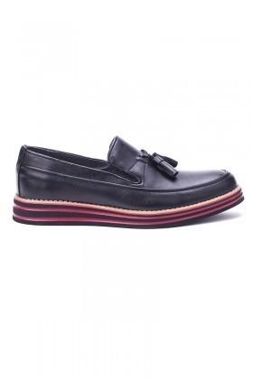 BLUESOIL Siyah BS-20-012-MAT Erkek Ayakkabı