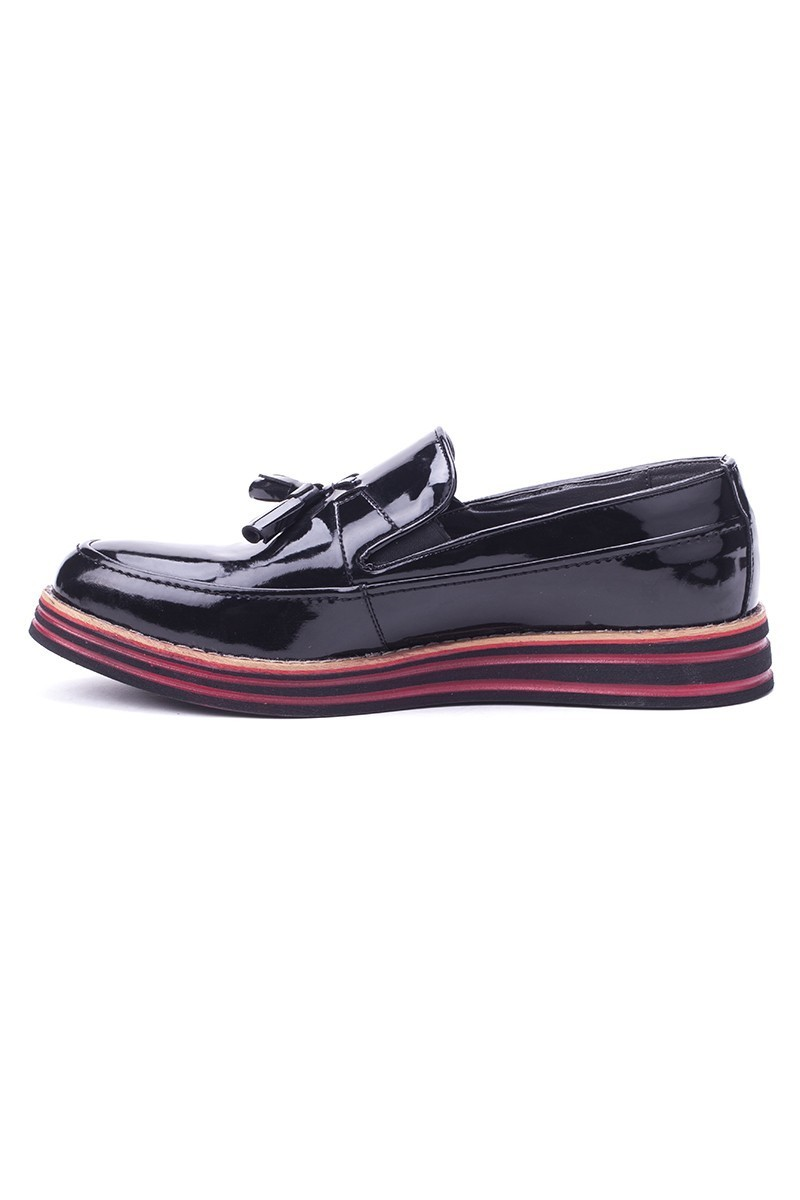 BLUESOIL Siyah BS-20-012-RGN Erkek Ayakkabı