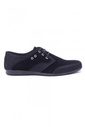 Polomen Siyah PLM-1071 Erkek Ayakkabı