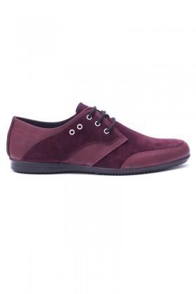 Polomen Bordo PLM-1071 Erkek Ayakkabı
