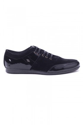 Polomen Siyah PLM-1072 Erkek Ayakkabı
