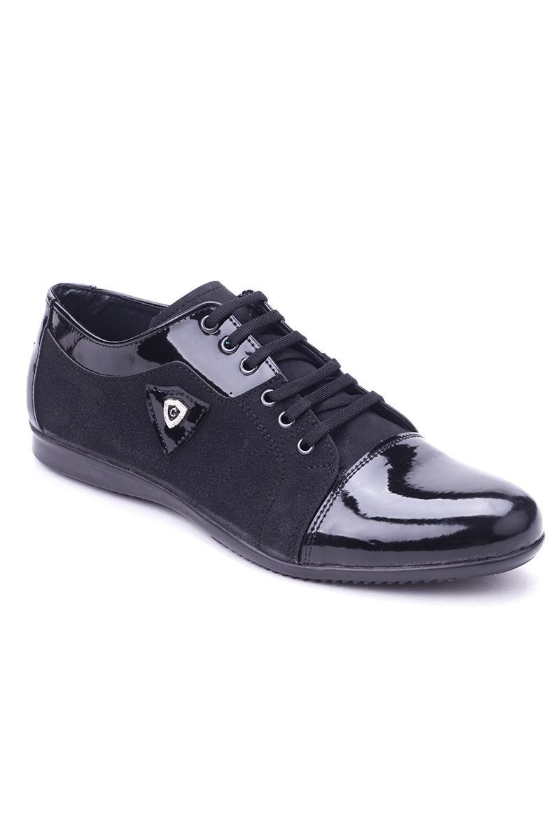 Polomen Siyah PLM-1100 Erkek Ayakkabı
