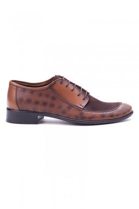 Ali Karaca Taba AK-1600 Hakiki Deri Erkek Klasik Ayakkabı