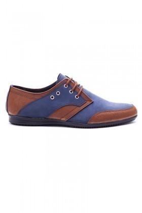 Polomen Mavi-Taba PLM-1100 Erkek Ayakkabı