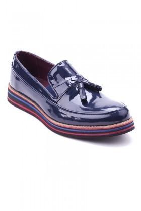 BLUESOIL Lacivert BS-20-012-RGN Erkek Ayakkabı
