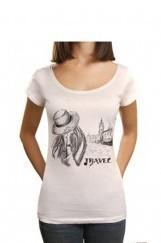 Hat Travel Baskılı Tişört