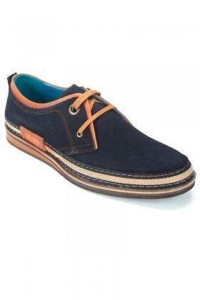 Pandew Lacivert PNDW-115 Hakiki Deri Erkek Ayakkabı