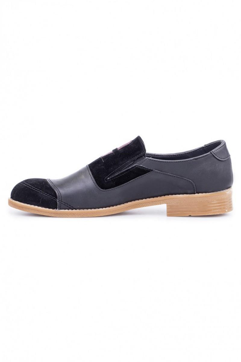 Polomen Siyah PLM-1045-SÜET Erkek Ayakkabı